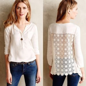 Anthropologie | Knitted & Knotted Verso Henley